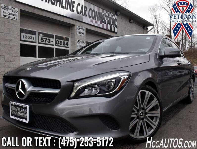 2018 Mercedes-Benz CLA for sale at The Highline Car Connection in Waterbury CT