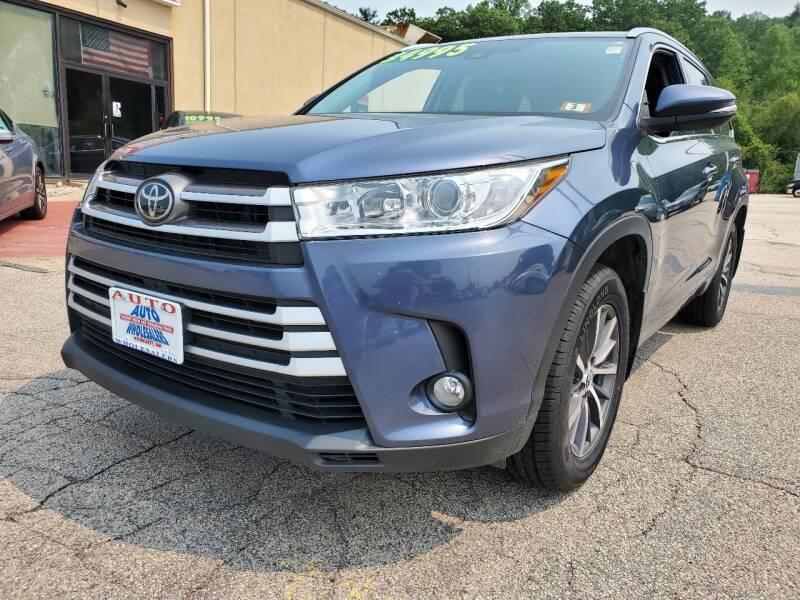 2018 Toyota Highlander for sale at Auto Wholesalers Of Hooksett in Hooksett NH