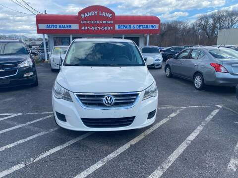 2010 Volkswagen Routan for sale at Sandy Lane Auto Sales and Repair in Warwick RI