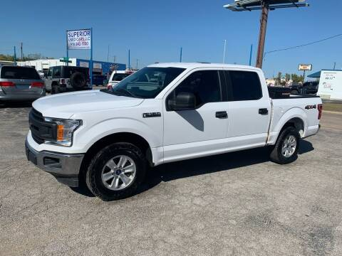 2018 Ford F-150 for sale at Superior Used Cars LLC in Claremore OK
