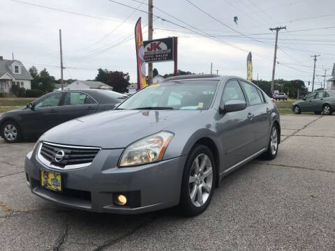 2008 Nissan Maxima for sale at JK & Sons Auto Sales in Westport MA