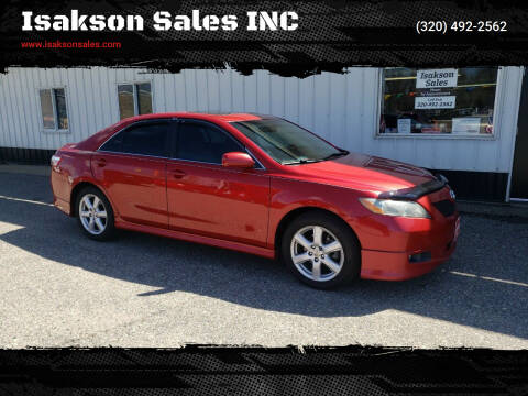 2008 Toyota Camry for sale at Isakson Sales INC in Waite Park MN