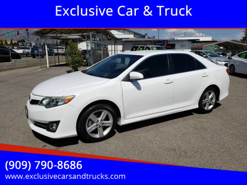 2014 Toyota Camry for sale at Exclusive Car & Truck in Yucaipa CA