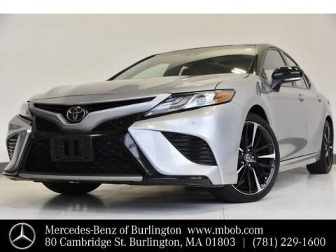 2018 Toyota Camry for sale at Mercedes Benz of Burlington in Burlington MA