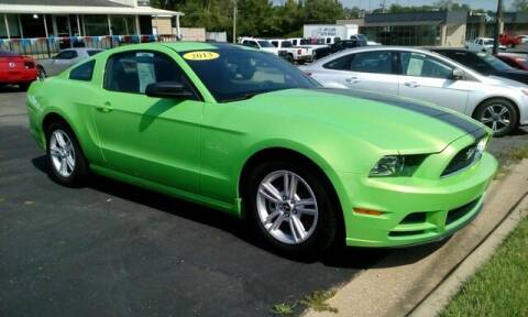 2013 Ford Mustang for sale at Jim Clark Auto World in Topeka KS