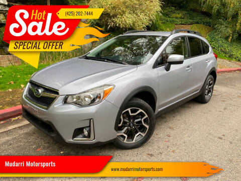 2017 Subaru Crosstrek for sale at Mudarri Motorsports in Kirkland WA