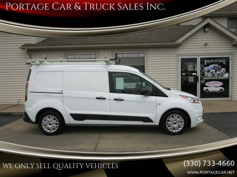 2016 Ford Transit Connect Cargo for sale at Portage Car & Truck Sales Inc. in Akron OH