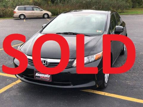 2012 Honda Civic for sale at Anamaks Motors LLC in Hudson NH
