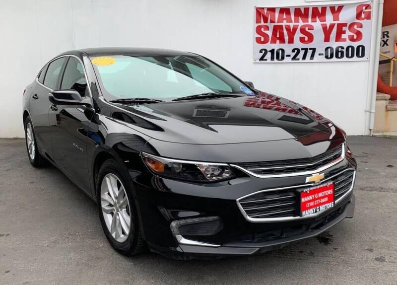 2018 Chevrolet Malibu for sale at Manny G Motors in San Antonio TX