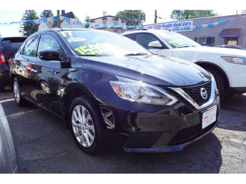 2017 Nissan Sentra for sale at M & R Auto Sales INC. in North Plainfield NJ