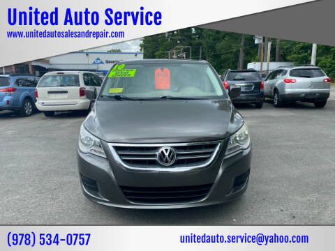 2010 Volkswagen Routan for sale at United Auto Service in Leominster MA