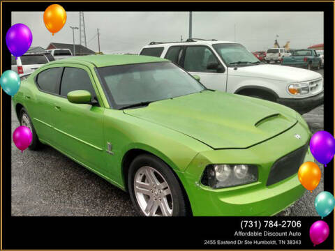 2007 Dodge Charger for sale at AFFORDABLE DISCOUNT AUTO in Humboldt TN