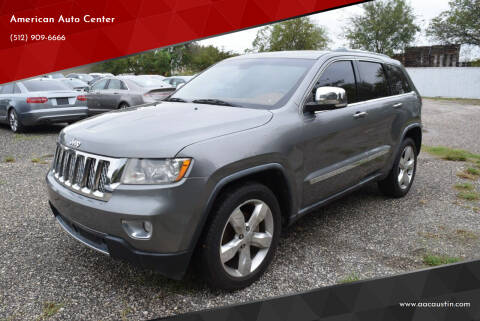2011 Jeep Grand Cherokee for sale at American Auto Center in Austin TX