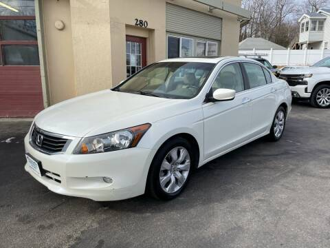 2008 Honda Accord for sale at Autowright Motor Co. in West Boylston MA