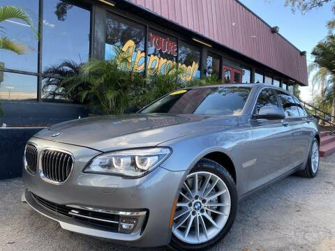 2014 BMW 7 Series for sale at Cars of Tampa in Tampa FL