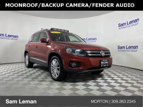 2015 Volkswagen Tiguan for sale at Sam Leman CDJRF Morton in Morton IL