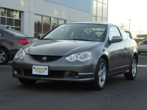 2002 Acura RSX for sale at Loudoun Motor Cars in Chantilly VA