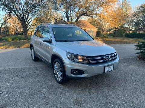 2014 Volkswagen Tiguan for sale at CARWIN MOTORS in Katy TX