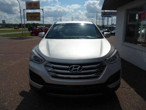 2015 Hyundai Santa Fe Sport for sale at Paul Oman's Westside Auto Sales in Chippewa Falls WI