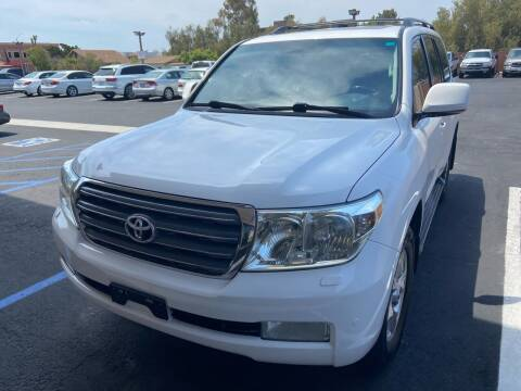 2008 Toyota Land Cruiser for sale at Coast Auto Motors in Newport Beach CA