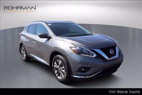 2018 Nissan Murano for sale at BOB ROHRMAN FORT WAYNE TOYOTA in Fort Wayne IN