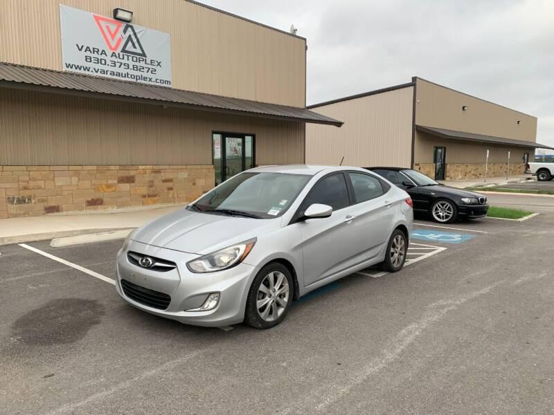 2013 Hyundai Accent for sale at VARA AUTOPLEX in Seguin TX