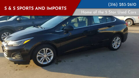 2019 Chevrolet Cruze for sale at S & S Sports and Imports in Newton KS