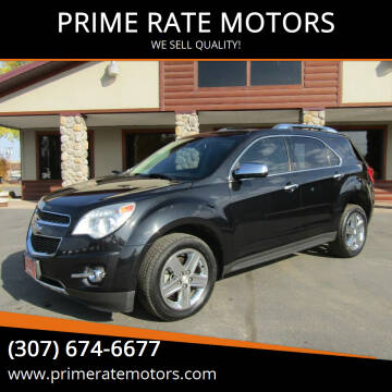 2015 Chevrolet Equinox for sale at PRIME RATE MOTORS in Sheridan WY