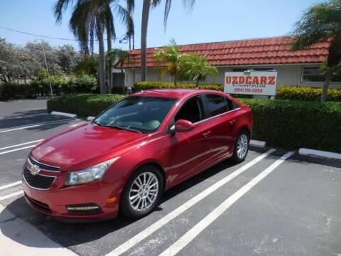 2012 Chevrolet Cruze for sale at Uzdcarz Inc. in Pompano Beach FL