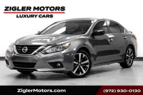2017 Nissan Altima for sale at Zigler Motors in Addison TX