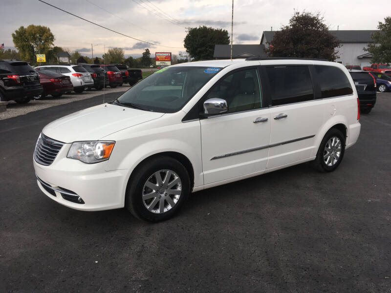 2012 Chrysler Town and Country for sale at JACK'S AUTO SALES in Traverse City MI