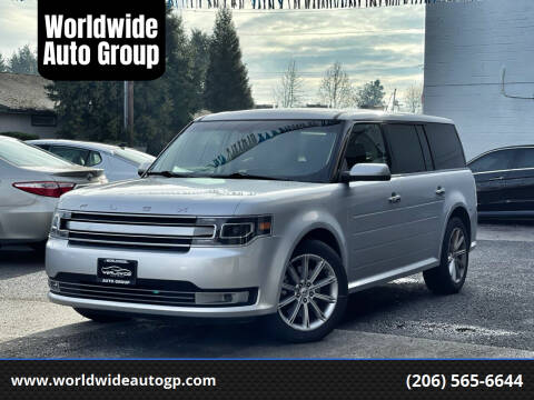2015 Ford Flex for sale at Worldwide Auto Group in Auburn WA