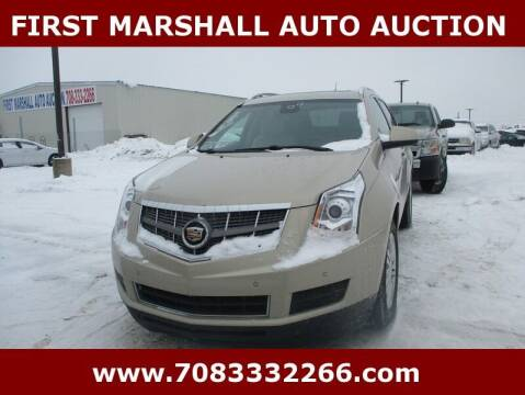 2010 Cadillac SRX for sale at First Marshall Auto Auction in Harvey IL
