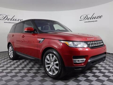 2017 Land Rover Range Rover Sport for sale at DeluxeNJ.com in Linden NJ