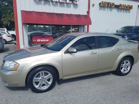 2010 Dodge Avenger for sale at Gagel's Auto Sales in Gibsonton FL