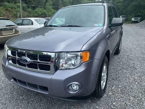 2008 Ford Escape for sale at JM Auto Sales in Shenandoah PA