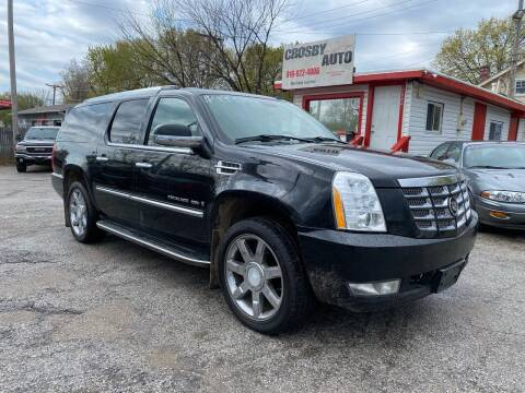 2008 Cadillac Escalade ESV for sale at Crosby Auto LLC in Kansas City MO