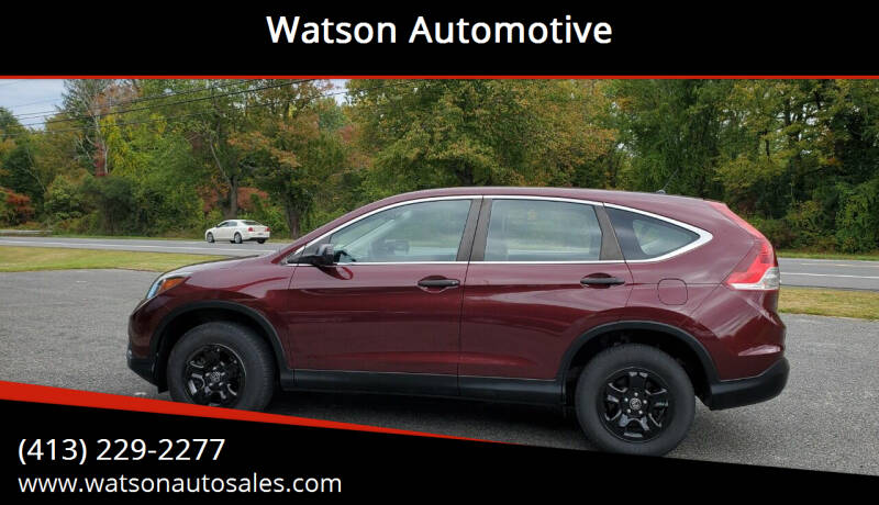 2014 Honda CR-V for sale at Watson Automotive in Sheffield MA