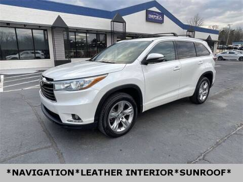 2015 Toyota Highlander for sale at Impex Auto Sales in Greensboro NC