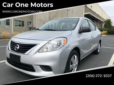 2014 Nissan Versa for sale at Car One Motors in Seattle WA