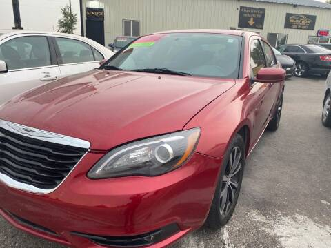 2012 Chrysler 200 for sale at BELOW BOOK AUTO SALES in Idaho Falls ID