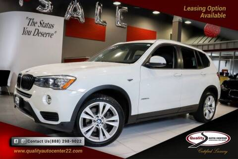 2016 BMW X3 for sale at Quality Auto Center in Springfield NJ