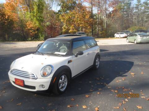 2008 MINI Cooper Clubman for sale at D & F Classics in Eliot ME
