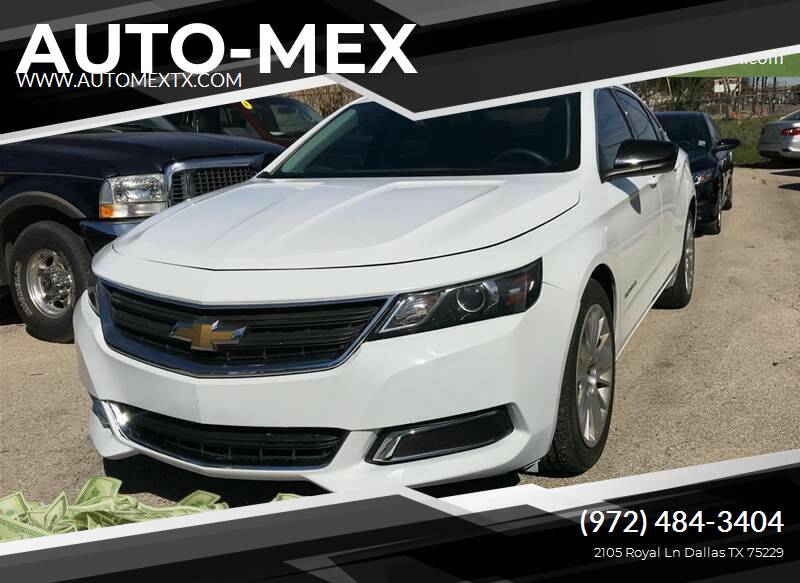 2014 Chevrolet Impala for sale at AUTO-MEX in Caddo Mills TX
