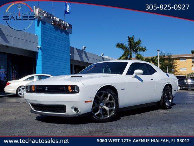 2015 Dodge Challenger for sale at Tech Auto Sales in Hialeah FL