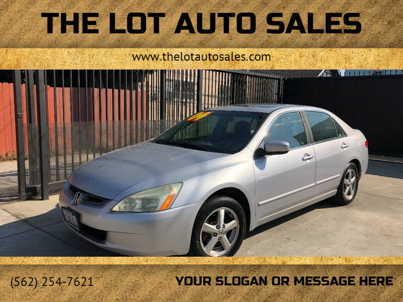 2004 Honda Accord for sale at The Lot Auto Sales in Long Beach CA