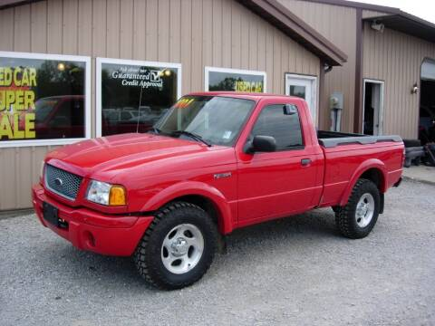 2001 Ford Ranger for sale at Greg Vallett Auto Sales in Steeleville IL