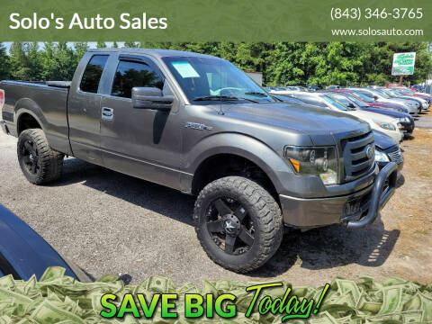 2011 Ford F-150 for sale at Solo's Auto Sales in Timmonsville SC