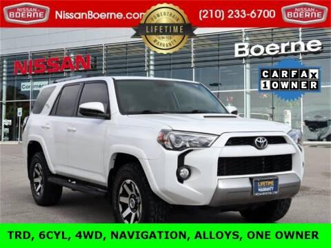 2018 Toyota 4Runner for sale at Nissan of Boerne in Boerne TX