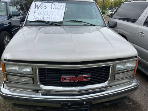 1999 GMC Yukon for sale at Continental Auto Sales in White Bear Lake MN